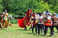 le ch�teau de Crussol �tait une forteresse imprena