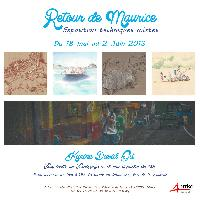 "re exposition de Karine David GIL ""Retour de Mauri"